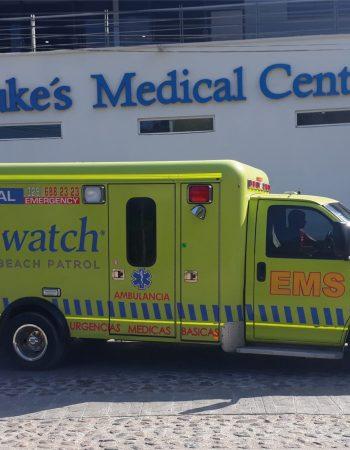 Saint Luke´s Hospitals & Baywatch Ambulance