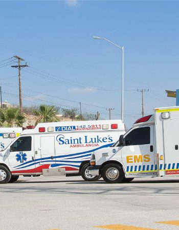 Saint Luke´s Hospitals & Baywatch Ambulance